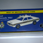 Atlas editions Best of British police cars  Ford Granada MK1 Avon Somerset 1:43 @SOLD@